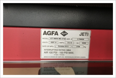 AGFA Jeti Mira 2732 from  DK to PL in 2018