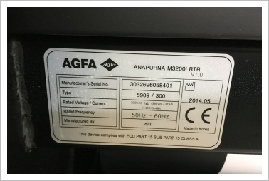 AGFA M2500i + M 3200i RTR from DK to PL 2019