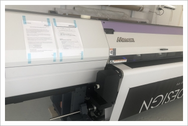 Mimaki UJV 55-320 UV LED Roll Printer