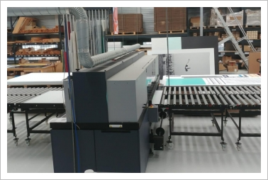 Durst P10-200 industrial UV under Full-service